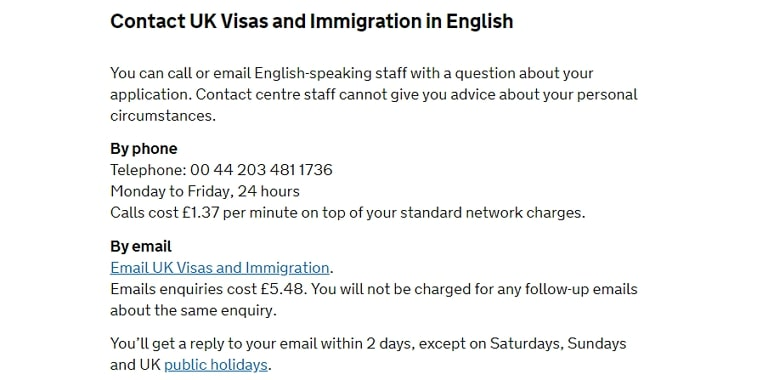 check uk visa status