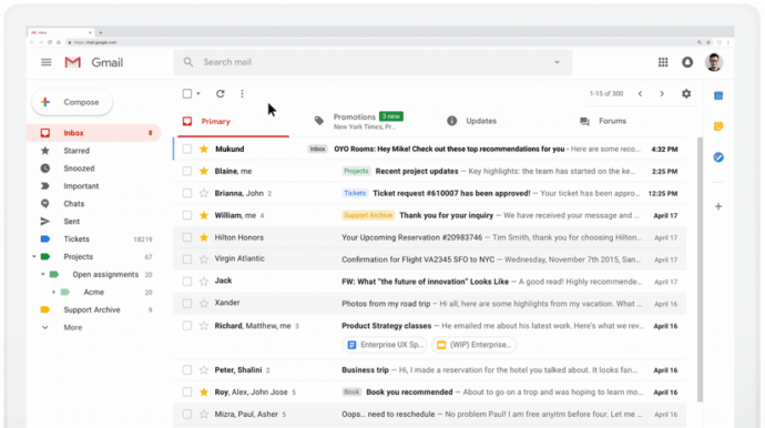 gmail username availability