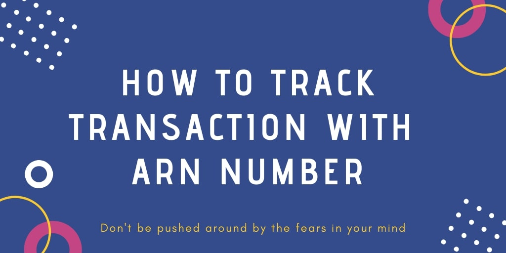 track transaction with arn number