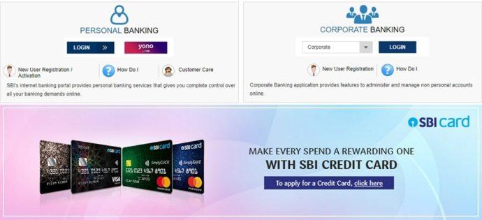 sbi debit card status